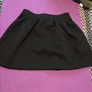 Textured Black Skirt from Candie's